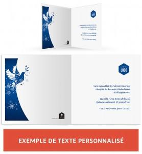 Personnalisation texte colombe